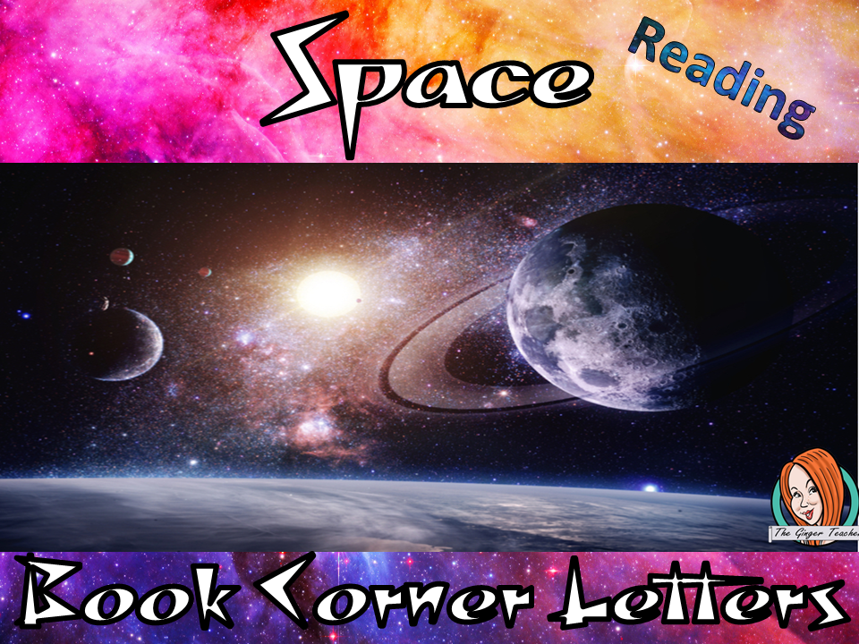 Space Themed Class Book Corner Letters