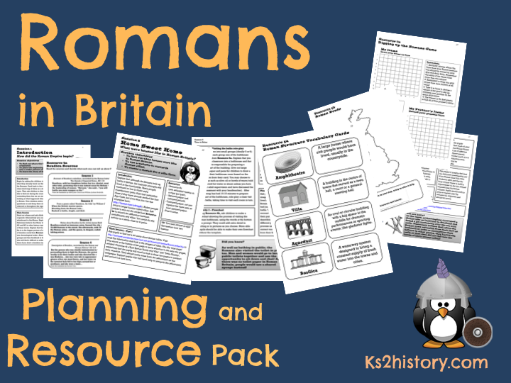 Roman Britain Planning Pack KS2