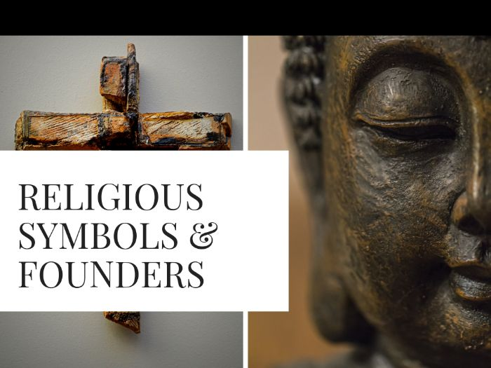 Religious Symbols & Founders Bundle!