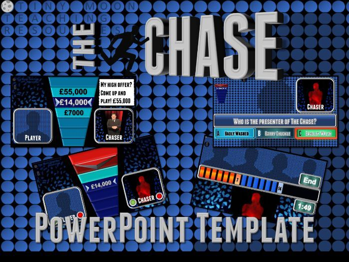 The Chase Customizable PowerPoint Template