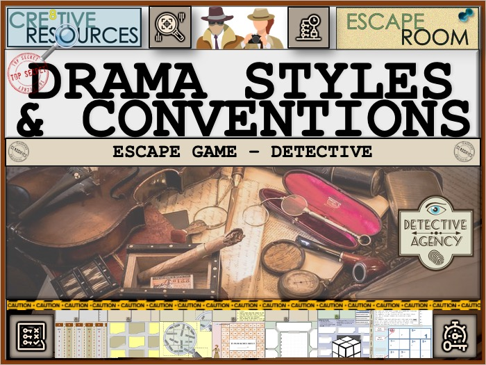 Styles and Conventions - Drama Escape Room