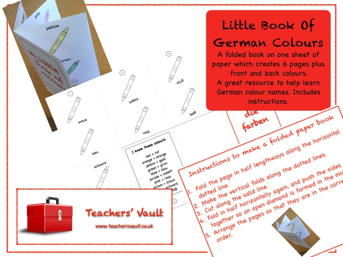 Little Book Of German Colours