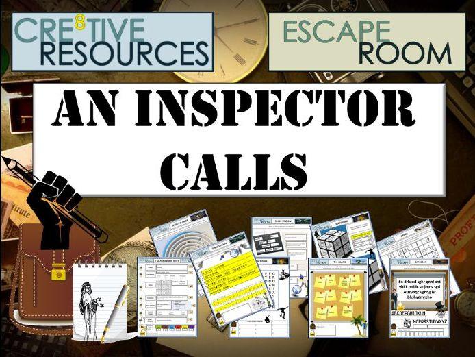 An Inspector Calls Escape Room