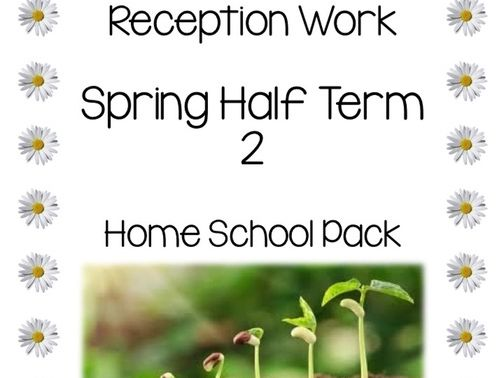Reception home schooling pack during covid-19