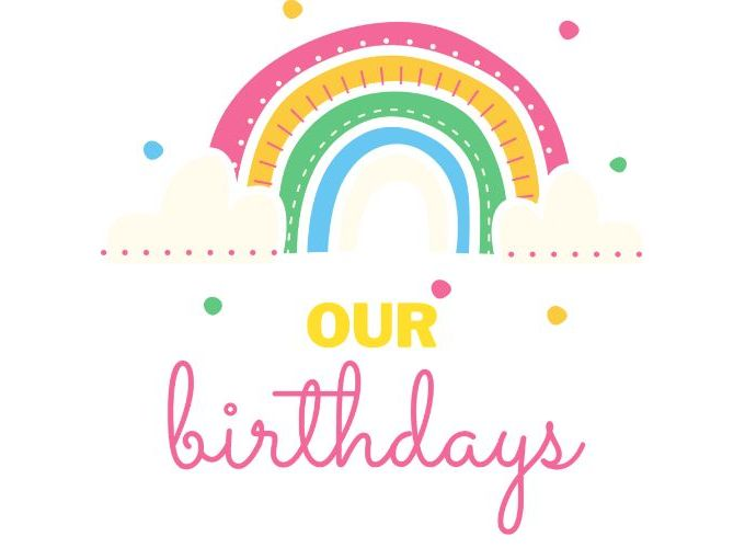 Rainbows Birthday Display Pack