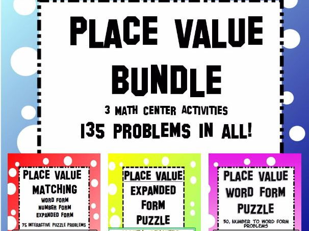 Number lesson plans and activities: Place value | TES