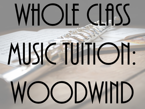Whole Class Music Tuition: Woodwind