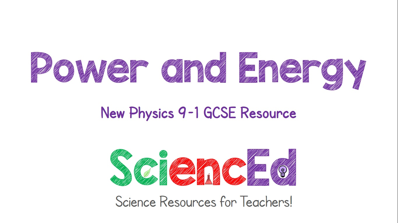 Power and Energy  by SciencEd