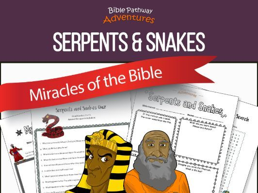 Bible Miracles: Serpents & Snakes (Moses before Pharaoh)