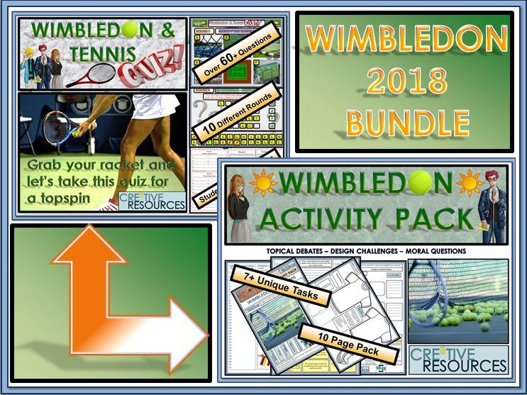 Wimbledon Tennis BUNDLE !