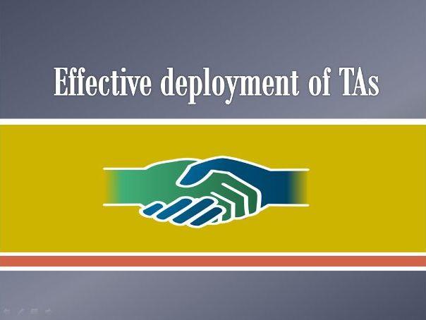 Deployment of TAs