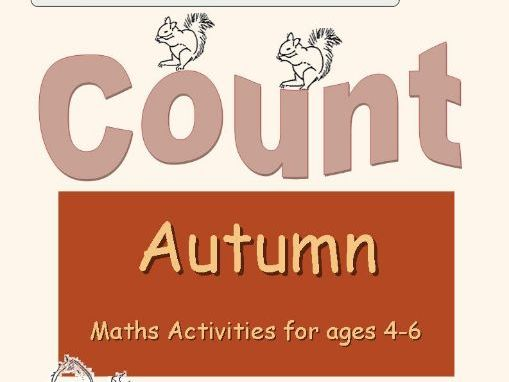 Autumn Maths Worksheets for Reception/Yr. 1