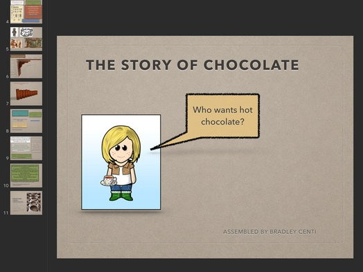"English Complete Lesson with Video ""Chocolate"""