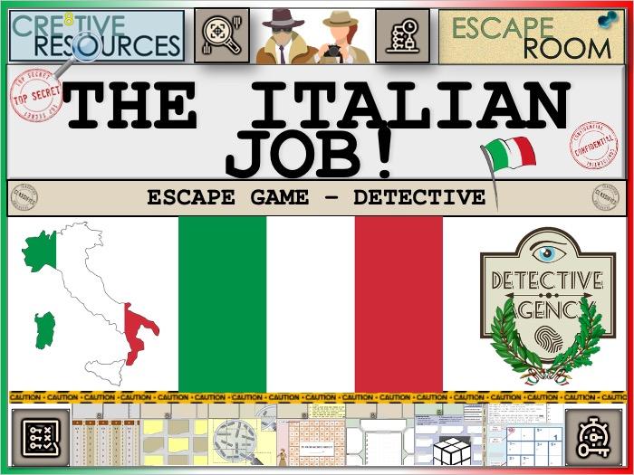 Italian Escape Room - The Italian Job