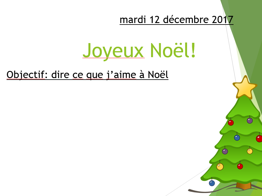 Joyeux Noel - Studio 1 Module 2 En plus 2