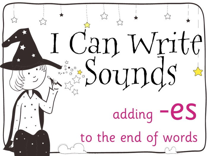Magic Sounds Phonics Set 30 adding -es to the end of words