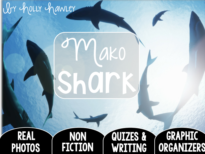 Mako Shark-A Research Project-UK Version