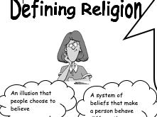 Defining Religion Activity bundle