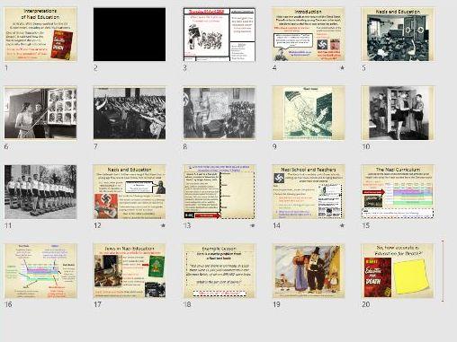 9-1 Weimar and Nazi Germany: Nazi Education