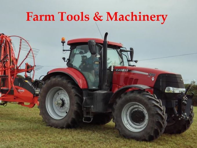 Farm Tools and Machinery unit of work