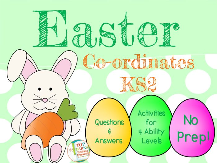 Easter Maths Co-ordinates (KS2)