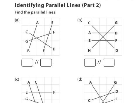 Identifying Parallel Lines (Part 2)