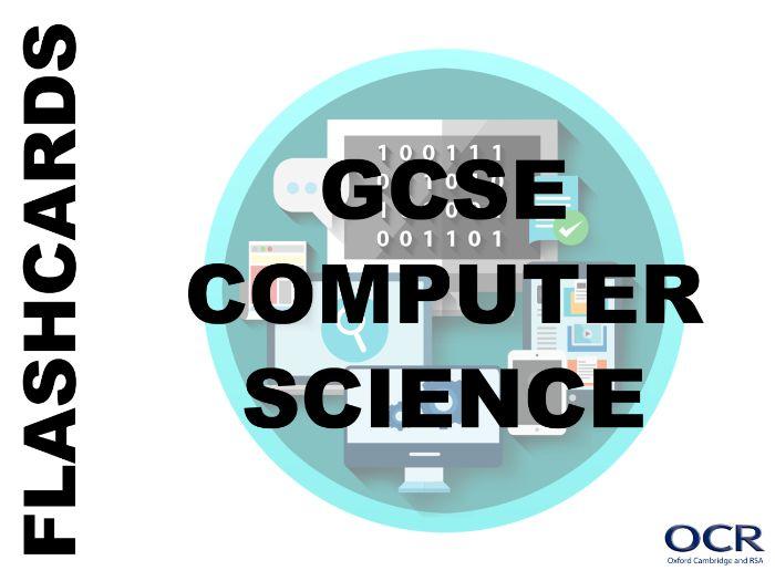 GCSE Computing Revision Flash Cards - Storage