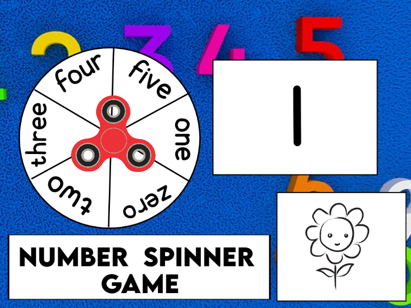 Number Spinner Game KS1 / SEN