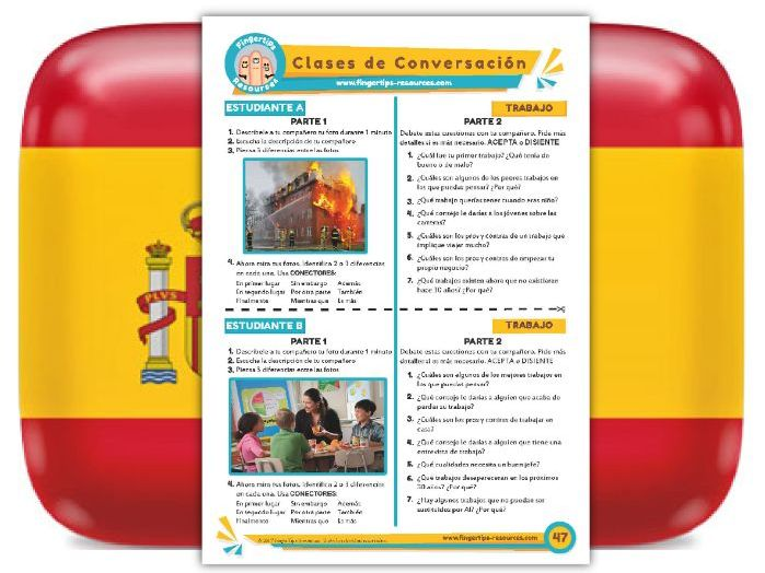 Trabajo - Spanish Speaking Activity