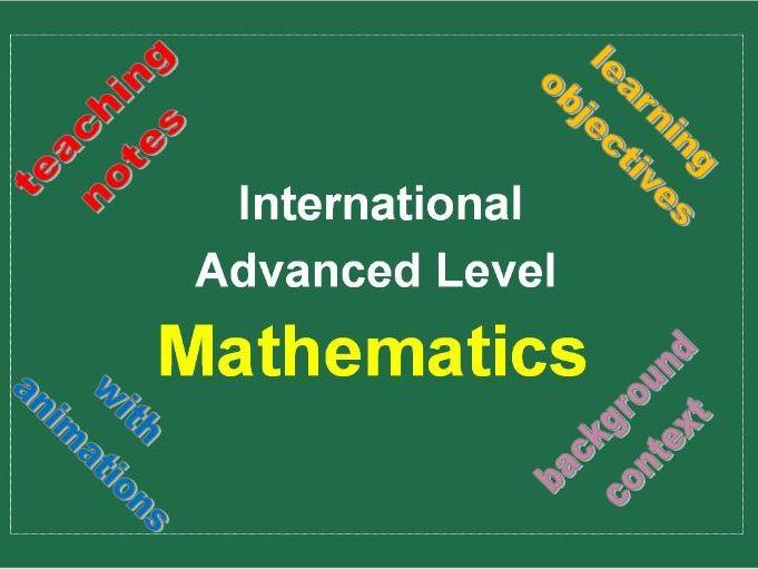Pure Mathematics 3 PowerPoint Pack