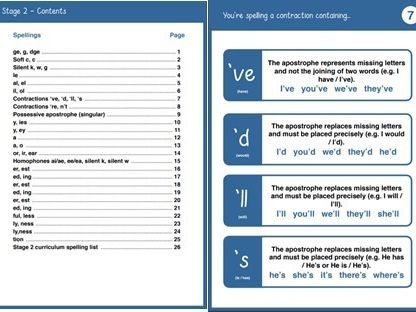 Teaching Prompts - Year 2 Spelling Booklet Primary National Curriculum