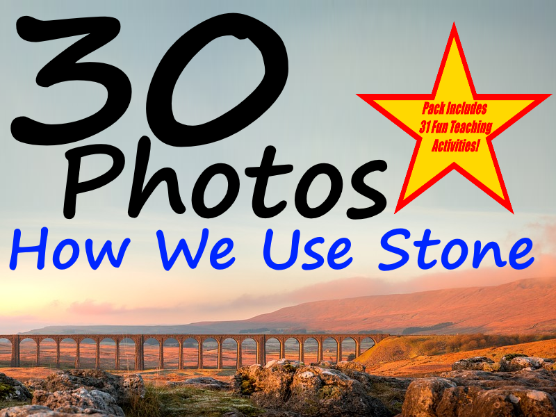 30 Uses Of Stones Photos PowerPoint Presentation + 31 Fun Teaching Activities For These Cards