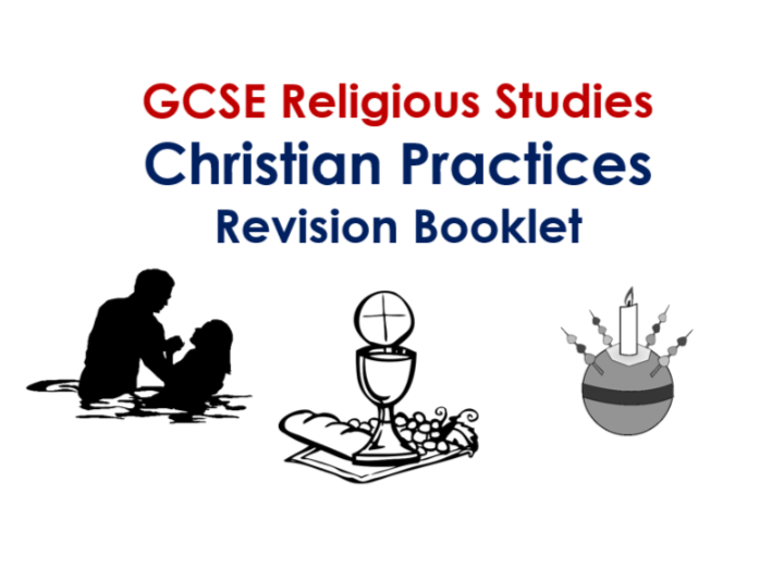 AQA GCSE RS Christian Practices Revision Guide