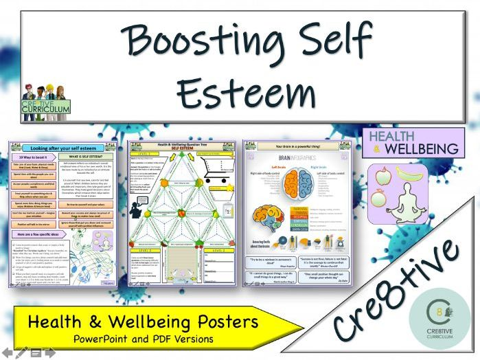 Self Esteem + Mental Health - Home Learning