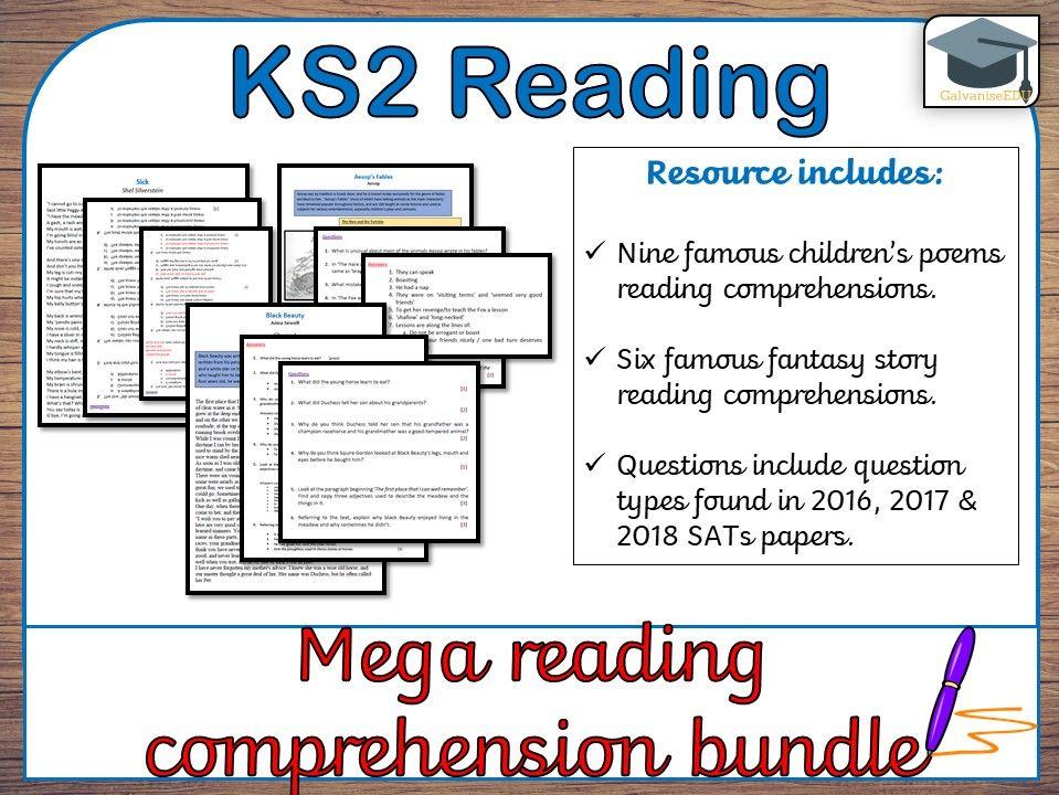 Mega Reading Comprehensions (KS2) –[BUNDLE]