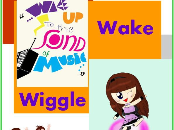 """Wake, Wiggle & Work"" - Fun Songs to Start the Day"