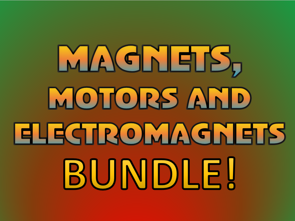 Magnets, Electromagnets and the Motor Effect!