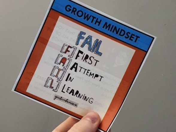 Growth Mindset Table Resource