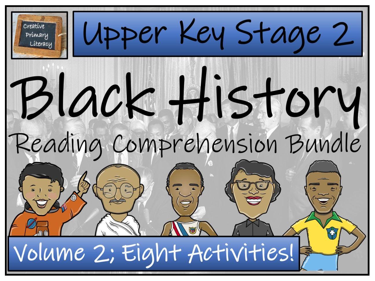 UKS2 Black History Month Volume 2 Reading Comprehension Bundle