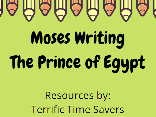 Moses Writing - The Prince of Egypt