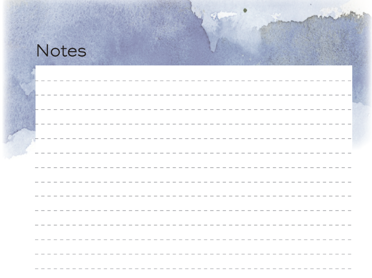 NEW 2020/21 Teacher Planner - Notes Pages
