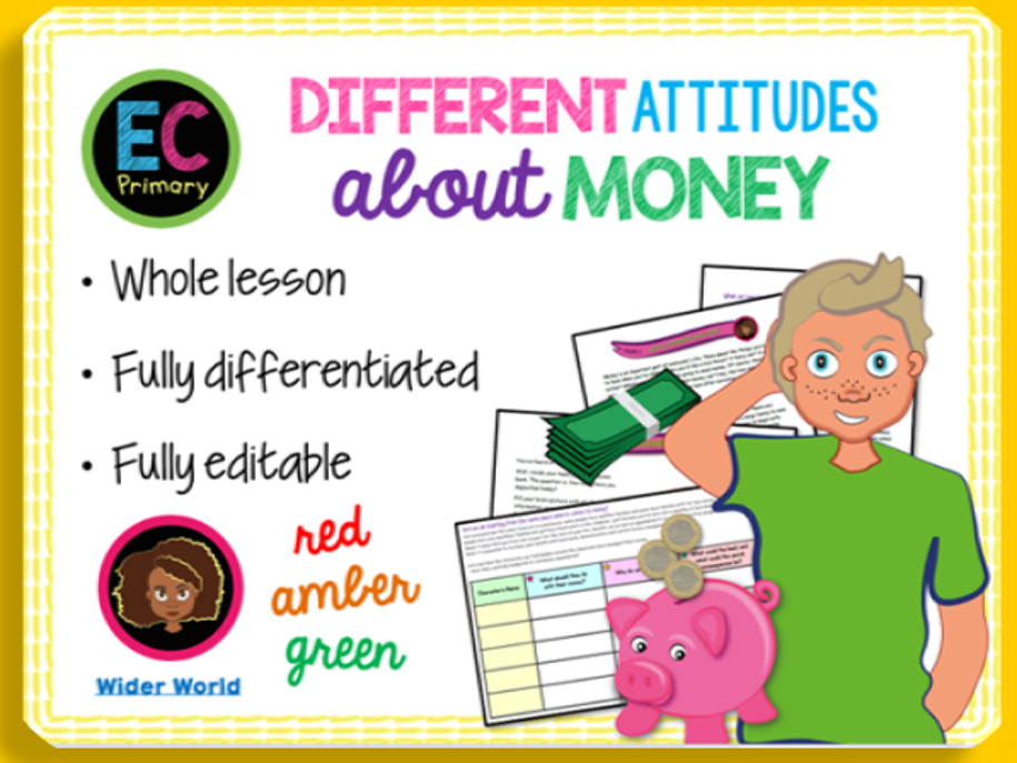 Attitudes to Money KS2