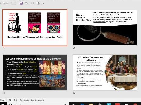 All the Themes of An Inspector Calls
