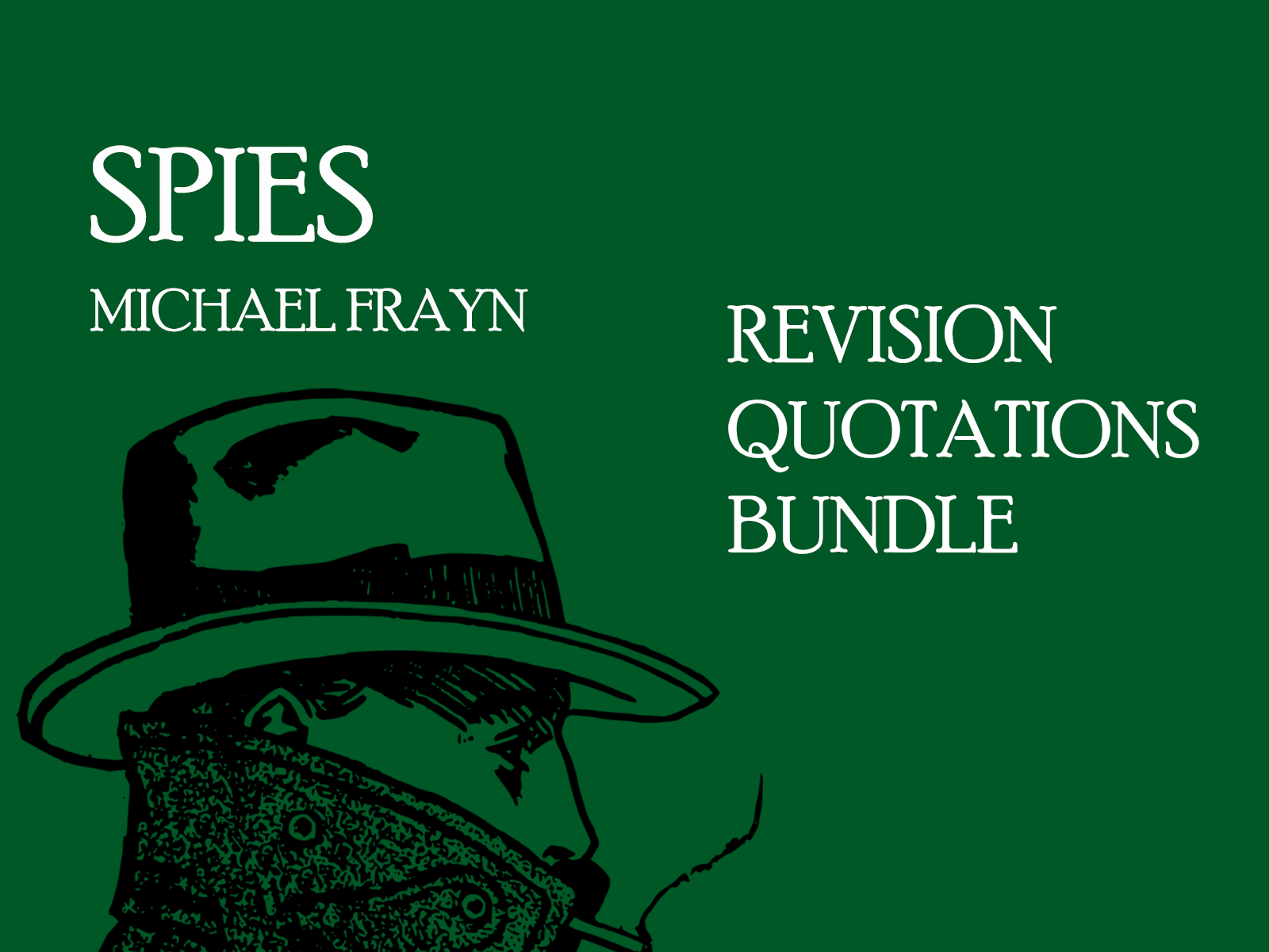 Spies - Frayn - Revision Prompts Bundle