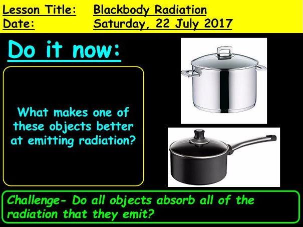 Black Body Radiation - GCSE 9-1 Physics