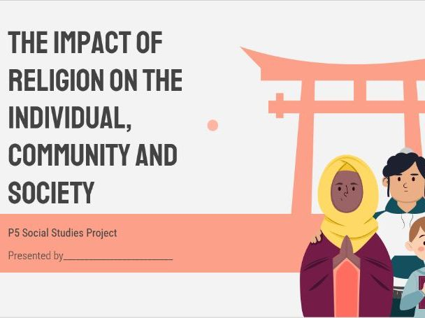 Interactive Lesson; Impact of religion
