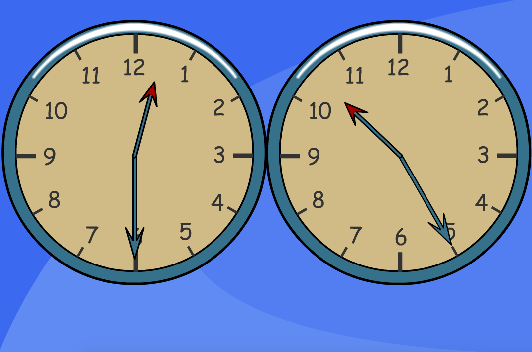 Compare Analogue Clocks - Interactive Tool - KS1/KS2 Measurement