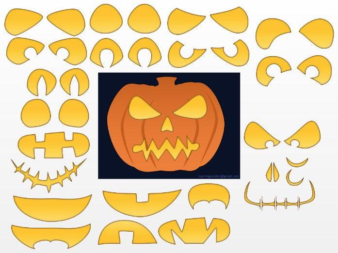 Create your own printable pumpkin
