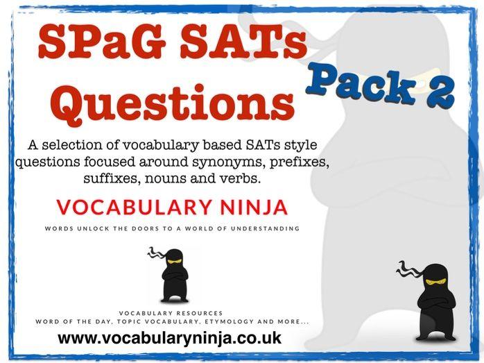 SPaG SAT Questions 2