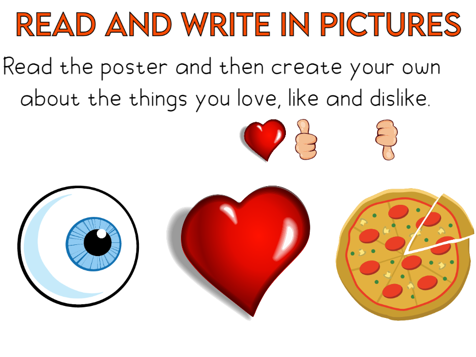 Read and Write in Pictures